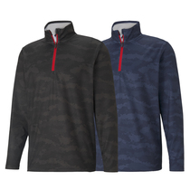 puma volition flanked 1/4 zip