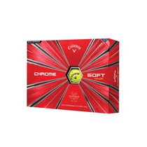 callaway chrome soft - yellow