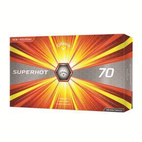 callaway superhot 70 15-ball pack - yellow