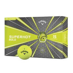 callaway superhot bold yellow 15-ball pack