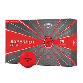 callaway superhot bold red 15-ball pack