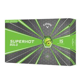 callaway superhot bold green 15-ball pack