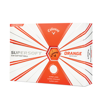 callaway supersoft - matte orange