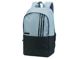 adidas (r) 3-stripes small back pack – grey/black