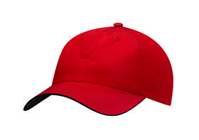 adidas (r) performance 6-panel poly - power red