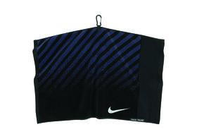 nike jacquard towel  - black|silver|midnight navy