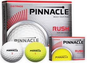 pinnacle® rush golf balls - yellow
