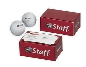 wilson staff® 2-ball thank you box - wilson staff 50 elite