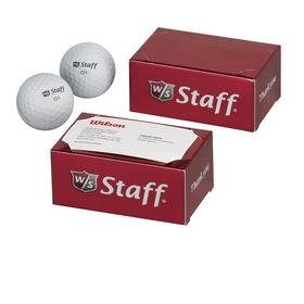 wilson staff® 2-ball thank you box - wilson staff duo