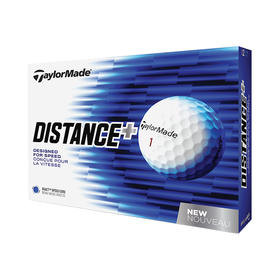 taylormade® tm distance golf balls - white