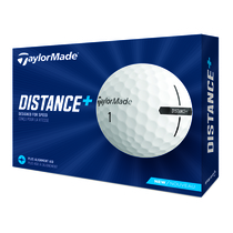 taylormade distance+ - white
