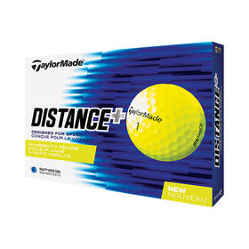taylormade distance+ - yellow
