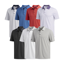 adidas performance 2-color stripe polo