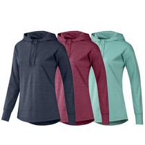 adidas women's essential heathered hoodie