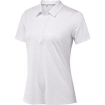 adidas women's microdot short sleeve polo