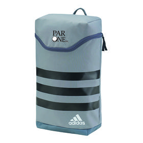 adidas (r) 3-stripes shoe bag - grey/black/white