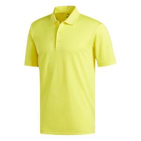 adidas performance polo - yellow