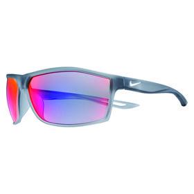 nike intersect m sunglasses - matte black/white