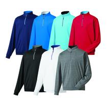 footjoy half-zip pullover