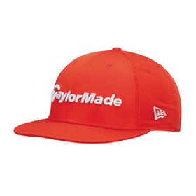 taylormade performance new era 9fifty cap - safety orange