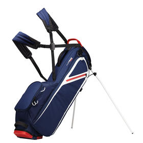taylormade® custom flextech lite stand bag - navy/white/red