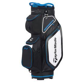 taylormade® cart 8.0 cart bag - black/white/royal