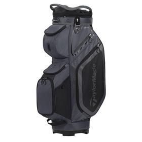 taylormade® cart 8.0 cart bag - charcoal/black