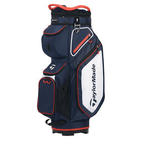 taylormade® cart 8.0 cart bag - navy/white/red