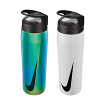 nike 24oz hypercharge elite stainless steel straw bottle