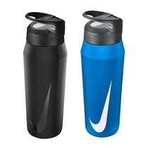 nike 32oz hypercharge stainless steel straw bottle