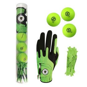 supertubes custom glove, stock balls & stock tees