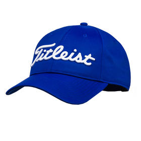 titleist tour performance cap - royal/white