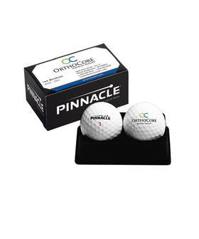titleist® standard 2-ball business card box - pro v1/pro v1x
