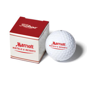 titleist packedge 1 ball box with dt trusoft