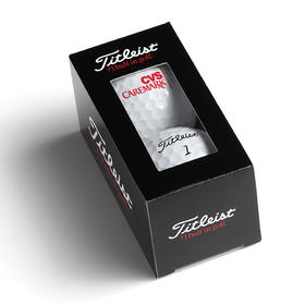 titleist® standard 2-ball sleeve with window - dt trusoft