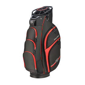 wilson staff extra cart bag - black/red