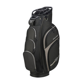 wilson staff extra cart bag - black/silver