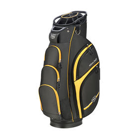 wilson staff extra cart bag - black/yellow