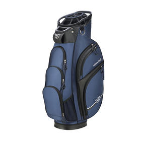 wilson staff extra cart bag - blue/black