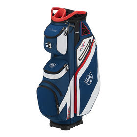 wilson staff exo cart bag - navy