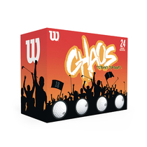 wilson® chaos™ 24-ball pack
