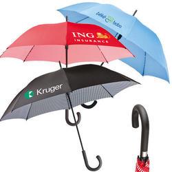 The Pin Stripe - Auto open stick umbrella