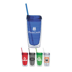 The Refresh w/Lid - Dual Purpose Tumbler