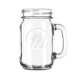 The Vessel -ETCHED Drinking Jar