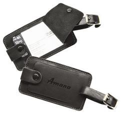 The Identifier - Leather Luggage Tag