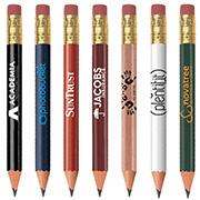 Golf Pencil (Round, Eraser)