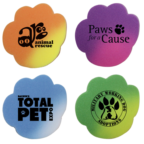 Mood Die Cut Eraser-Paw