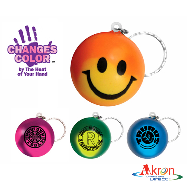 Overseas Direct, Mood Smiley Face Stress Key Chain