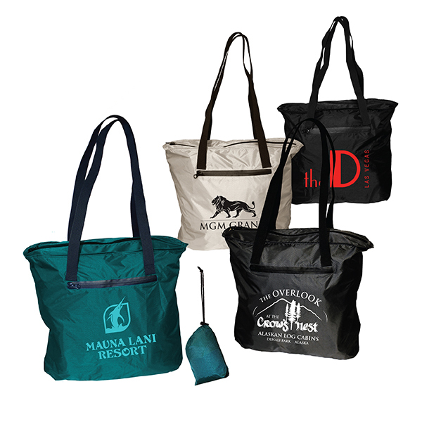 Overseas Direct, Otaria Packable Tote Bag