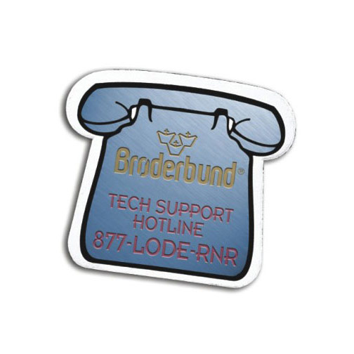 Full Color Digital Stock Shaped Magnets-Phone